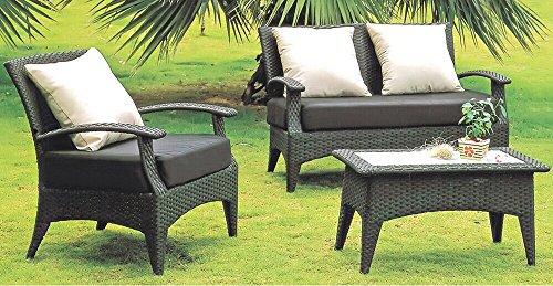 Hentex Cover Schutzhülle für Lounge Chair Gartenbank 2-Sitzer Abdeckung Loungesofa - 6