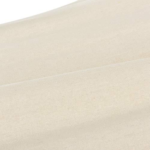 casa.pro Hängematte bis 150 kg Hängeliege für Innen und Außen Stabhängematte Camping Outdoor 200x80cm Creme - 7