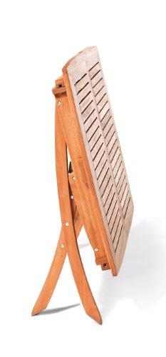 gartenmoebel-einkauf Multifunktionstisch Cordoba 110/160x90cm, klappbar und ausziehbar, Eukalyptus - 2