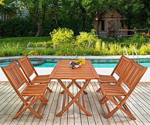 Deuba Sessel, Gartenmöbel, Holz, Eukalyptus, Akazienholz, Modell nach Auswahl - 2