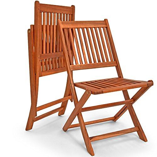 Deuba Sessel, Gartenmöbel, Holz, Eukalyptus, Akazienholz, Modell nach Auswahl - 6