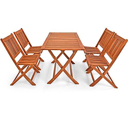 Deuba Sessel, Gartenmöbel, Holz, Eukalyptus, Akazienholz, Modell nach Auswahl - 3