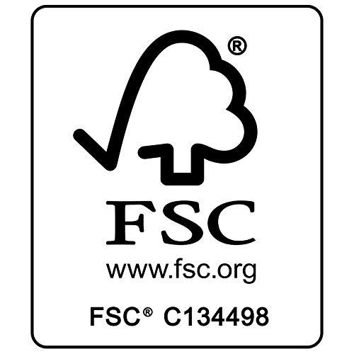 Deuba Sitzgruppe Moreno 8+1 FSC®-zertifiziertes Eukalyptusholz klappbar 9-TLG Tisch Sitzgarnitur Holz Gartenmöbel Garten Set - 2