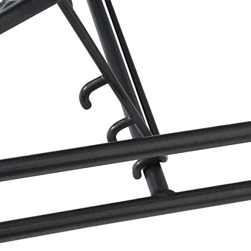 greemotion Loungeset Toulouse eisengrau/grau, Eckbank mit Tisch für In- und Outdoor, Bank mit Rückenverstellung, pflegeleichtes Streckmetallgestell, Sitzelemente einfach umzustellen, ca. 5 Sitzplätze - 11