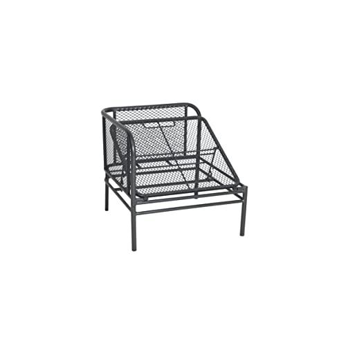 greemotion Loungeset Toulouse eisengrau/grau, Eckbank mit Tisch für In- und Outdoor, Bank mit Rückenverstellung, pflegeleichtes Streckmetallgestell, Sitzelemente einfach umzustellen, ca. 5 Sitzplätze - 12