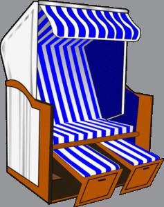 garten strandkorb